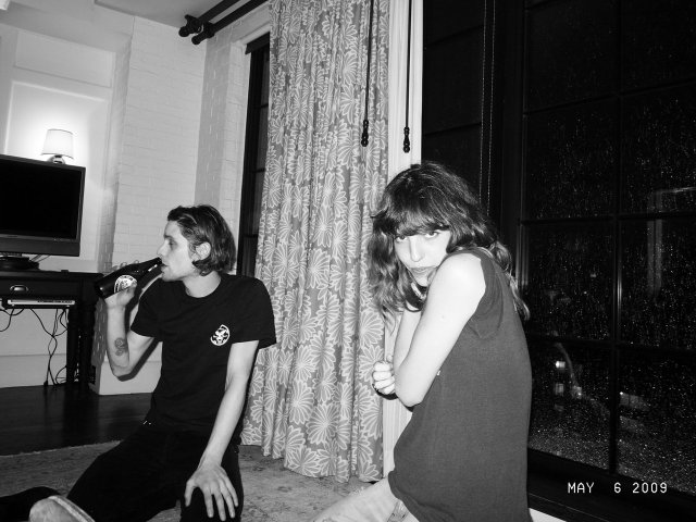 JAMIE DEL MOON and LOU DOILLON at the Bowery Hotel, New York. Photo Olivier Zahm