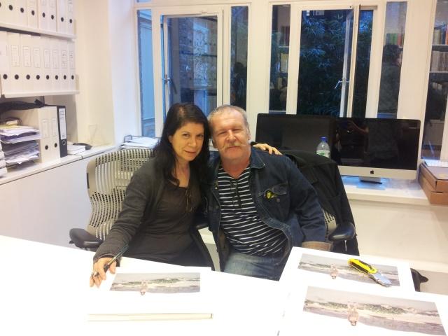 Davy Priestley with... Lise Sarfati